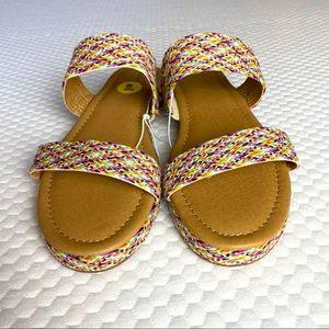 Loft Summer Espadrille Sandals Women's 9W NWOB